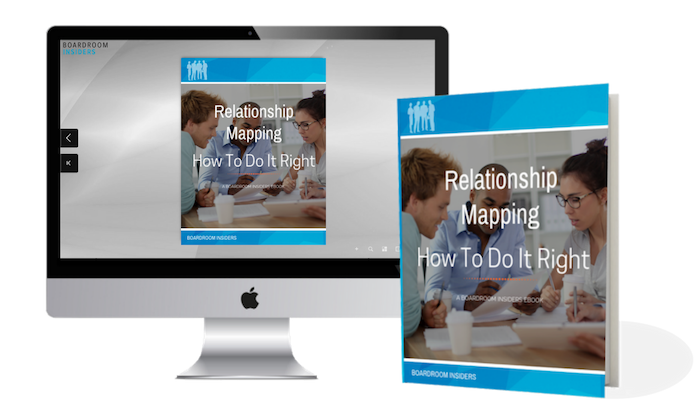 Relationship Mapping Computer w Book