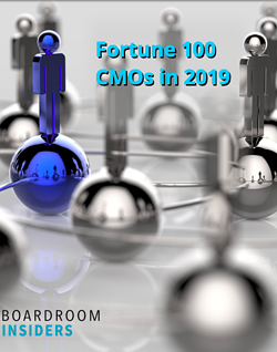 Fortune 100 CMOs in 2019
